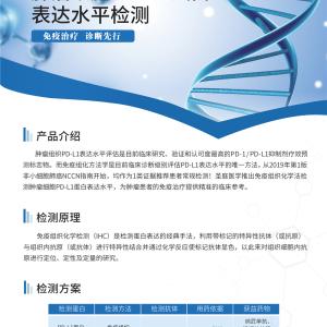 肿瘤细胞PD-L1 蛋白表达水平检测单页