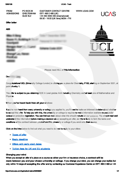UCL-Offer