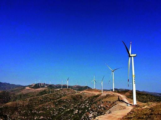 中融淇县凤泉山风电场(48MW)项目接地设计、施工总承包工程