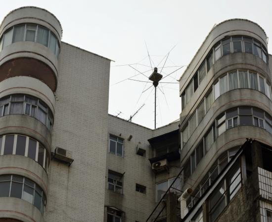1994年 广西华蓝设计院设计院防雷工程  使用DK-150型避雷针