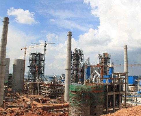 华润水泥(封开)6×4500t/d熟料水泥生产线一期施工安装工程