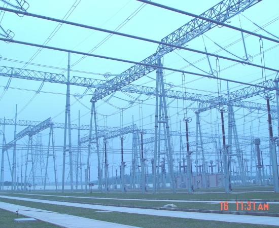 广东500千伏博罗变电站防雷接地工程 2005年