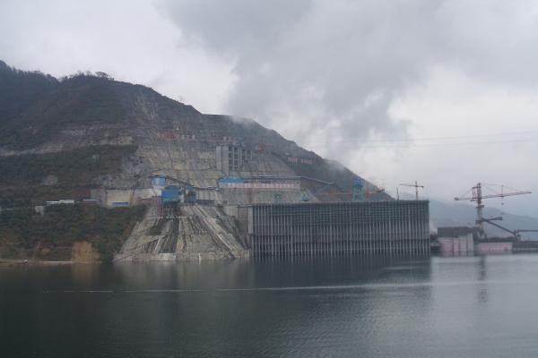 龍灘水電站新增庫區接地網及接地電阻處理工程