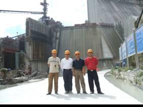 2007年地凯防雷公司承建的龙滩水电站接地电阻工程通过竣工验收