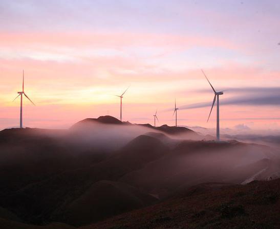 国电玉林大容山25.5MW风电项目工程