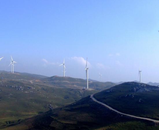 华能贵州韭菜坪风电场二期工程风机基础及箱变接地工程