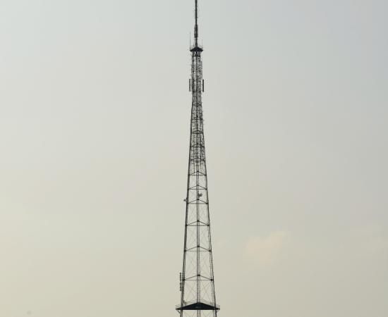 南宁人民公园电视塔防雷工程使用DK6-100型限流避雷针