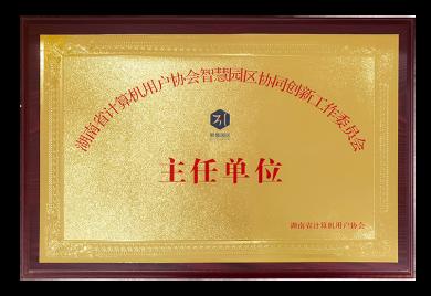官网 牌匾 湖南计算机协会主任单位