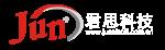 君思科技网站logo 横板