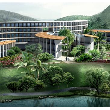 度假区规划·馥桂天泉风景旅游度假区