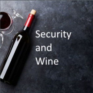security & wine