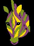 色彩财务-斑马-logo