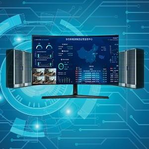 电站监控可视化作战大屏