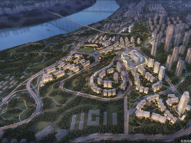 重庆北碚区蔡家南部半岛居住片区详细城市设计8