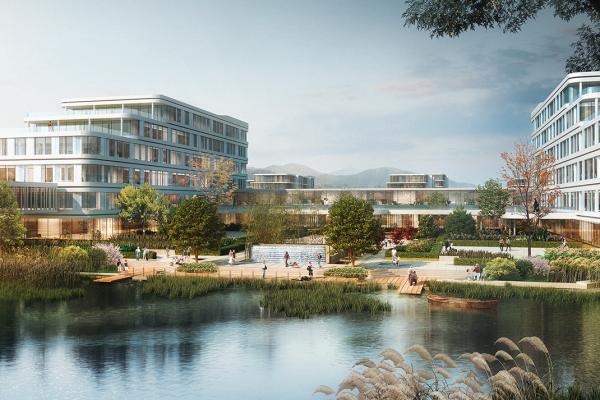 医学院设计_皖南医学院弋矶山医院三山医养结合示范区规划设计