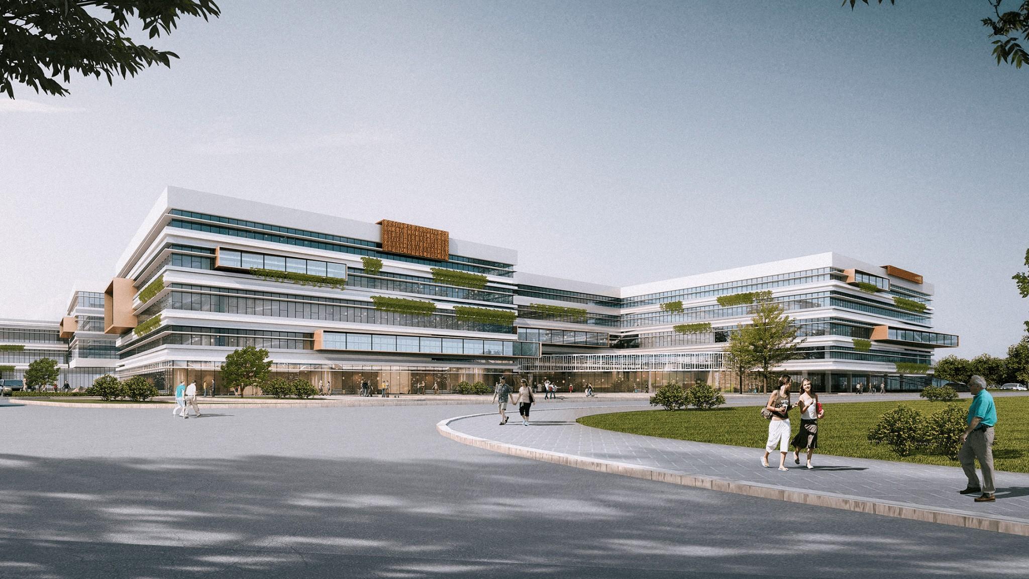 医院设计_ 南京市仙林中医医院