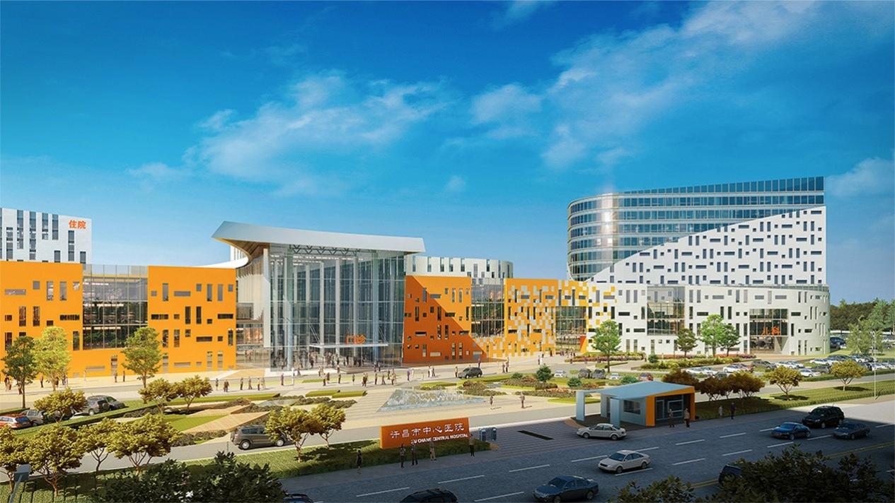 医院设计案例-许昌中心医院