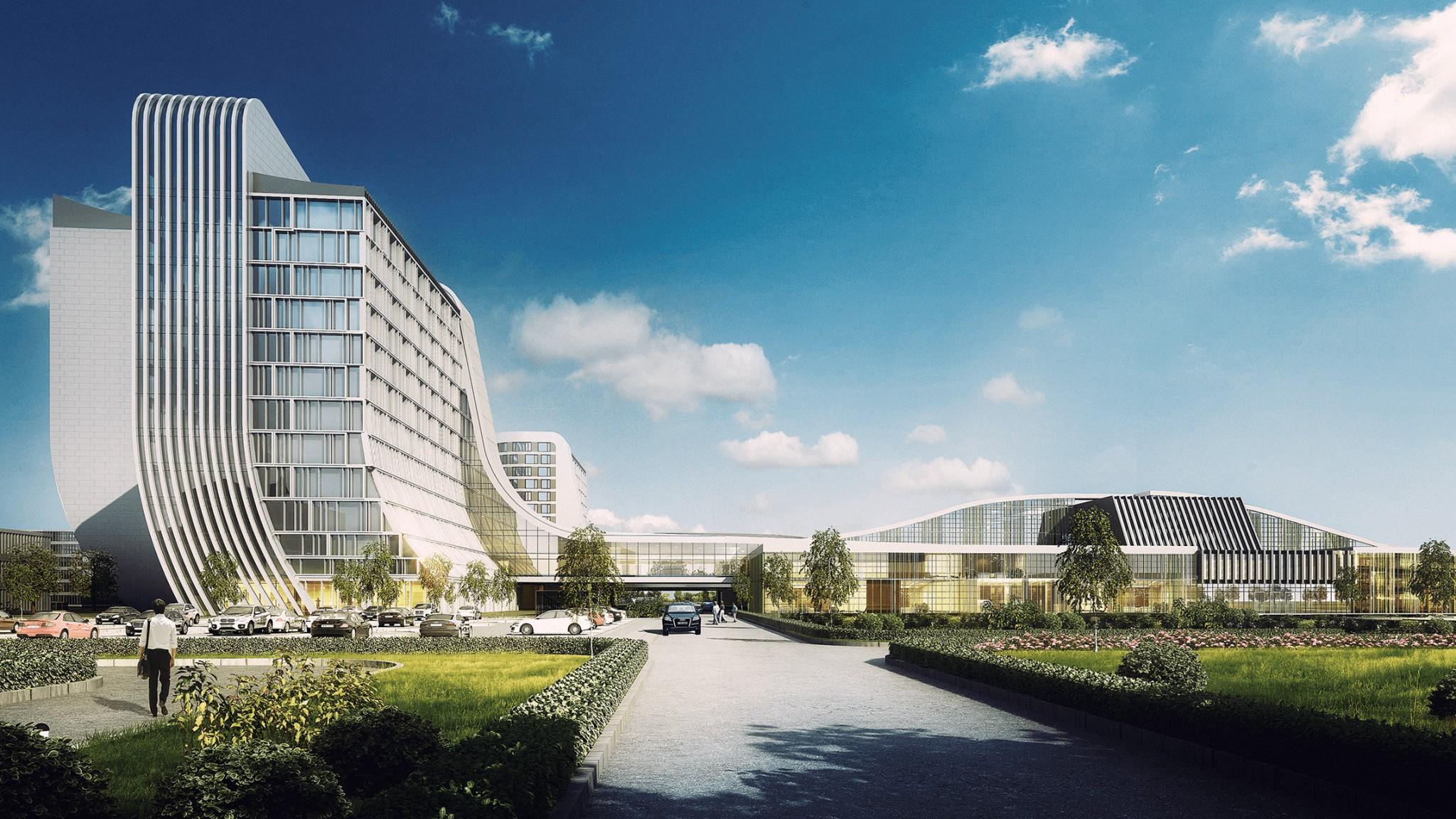 医院设计案例-滨州人民医院