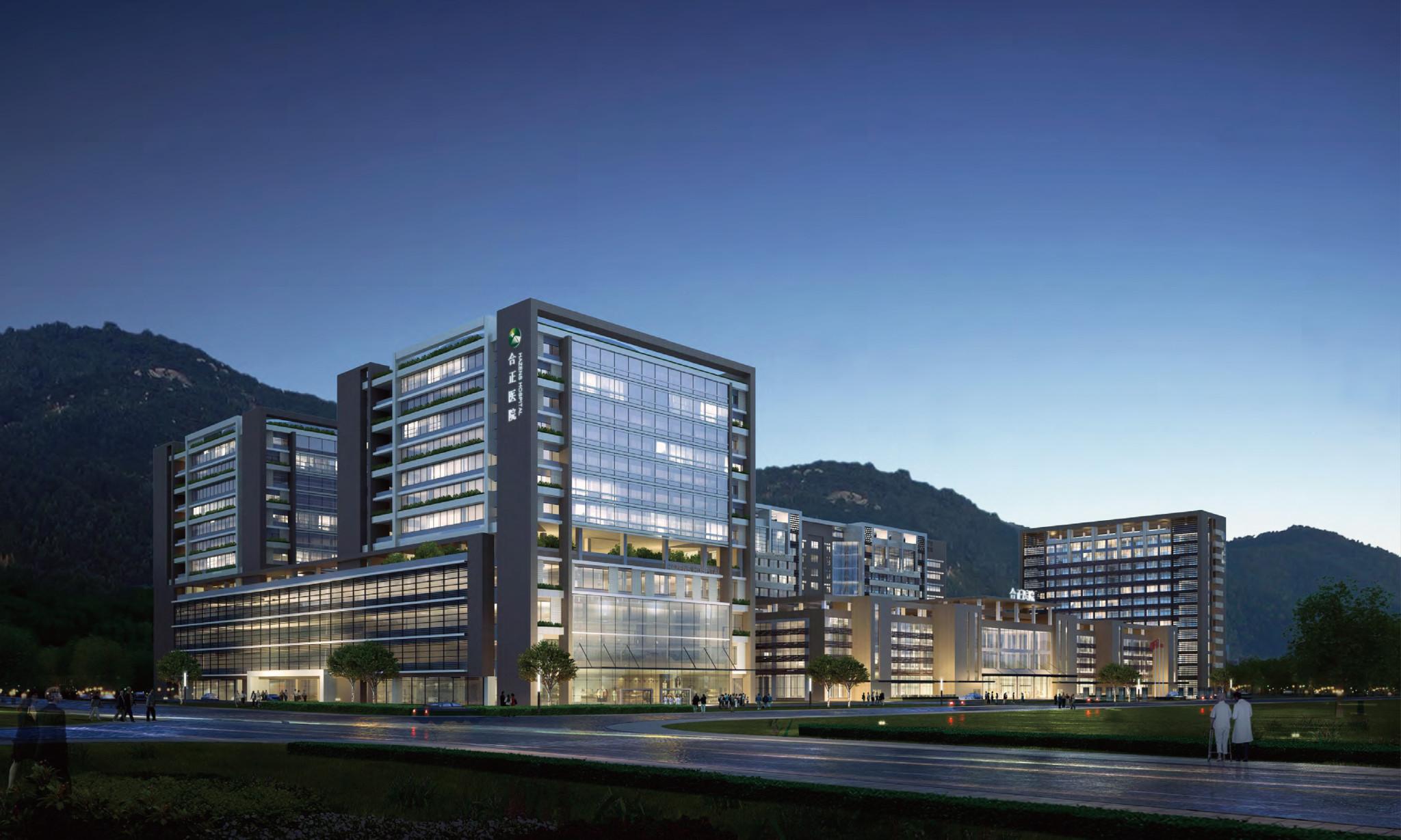 医院设计项目_深圳合正医院康复肿瘤中心