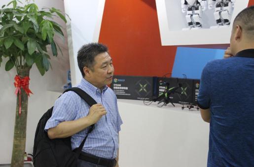 中国教育技术协会领导来访思创优学参观交流
