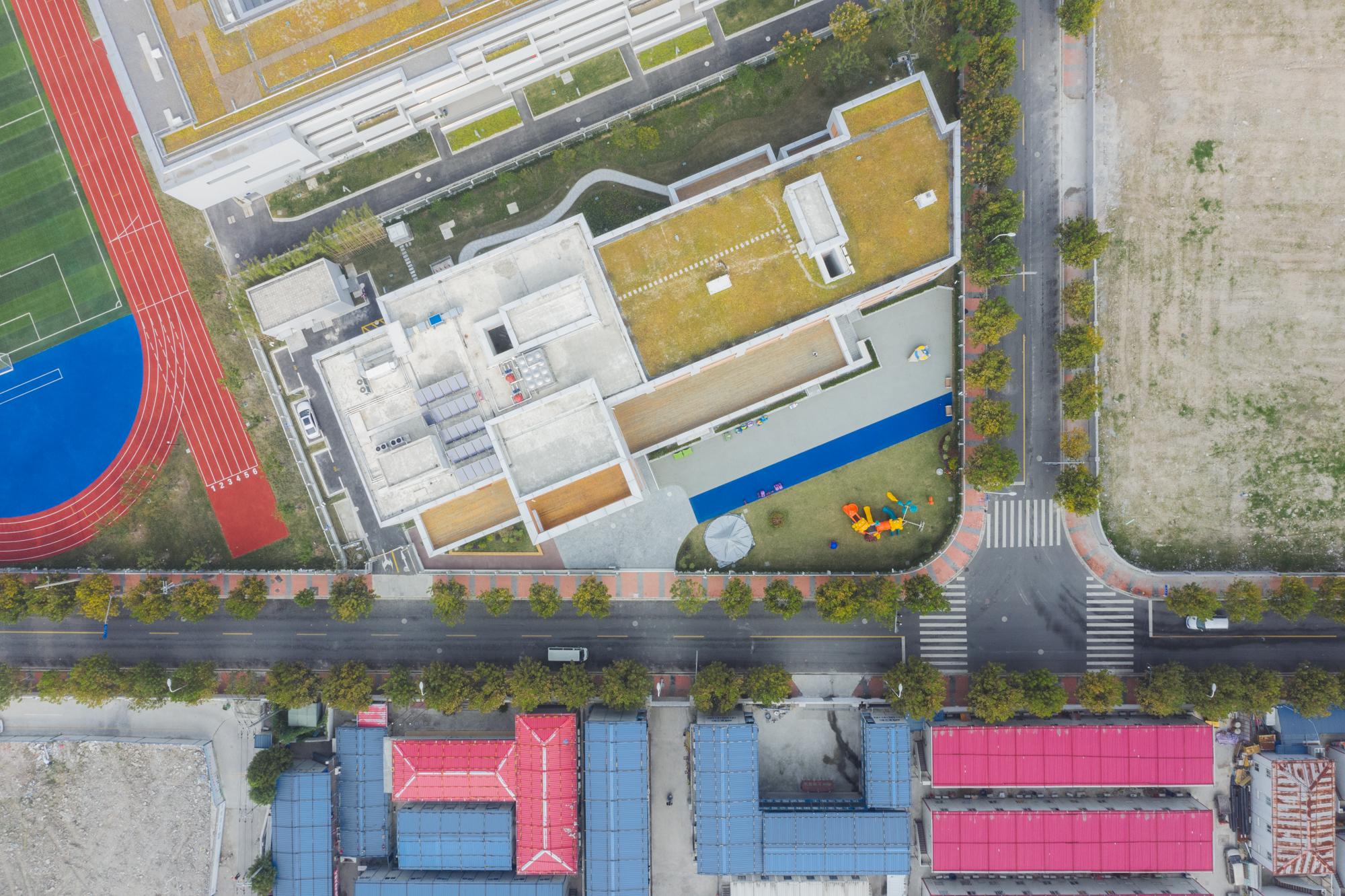 上海前滩冰厂田幼儿园