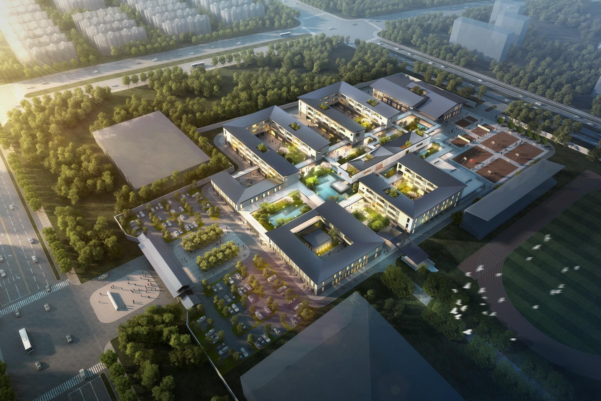 D1509-49(学校)大正建筑工作室-吴江中学-c02-wyb-1