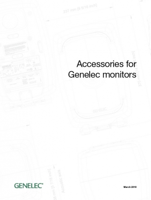 GENELEC-accessories-catalog-2018 封面