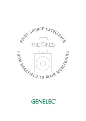 genelec_the_ones_brochure_2019_封面