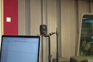 模拟系列音箱 频率响应测量及微调校准