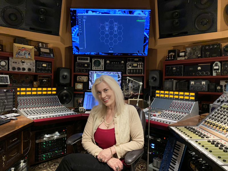 Sylvia Massy Genelec GLM - October 2020
