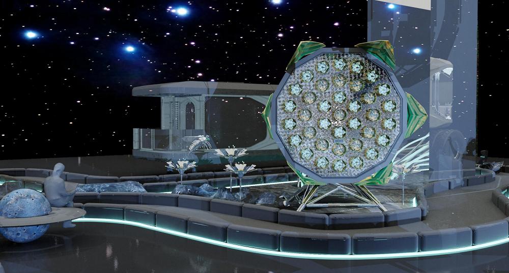 未来科技推进器「启航」效果图▲