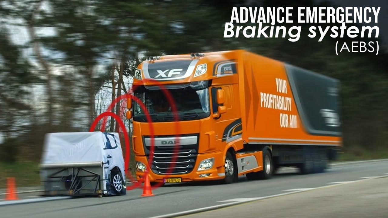 Braking system AEBS